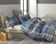 Комплект постільної білизни Color stripes двоспальний різнобарвний/у смужку La Nuit