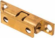 Защіпка кулькова подвійна 10х43 мм латунь полірована 1 шт.