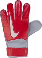 Вратарские перчатки Nike NK GK MATCH JR-FA18 р. 8 красный