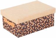Скриня текстильний Natural House FBC03-L із кришкою 180x300x420 мм