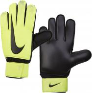 Вратарские перчатки Nike NK GK MATCH-FA18 р. 6 желтый