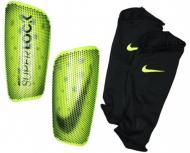 Щитки футбольні Nike NK MERC LT-SUPERLOCK р. L жовтий SP2163-702