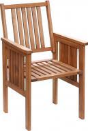 Кресло деревянное масивное 58х93 см бук