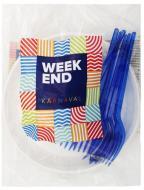 Набір посуду Weekend №3 на 6 персон