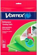 Набір серветок універсальні Vortеx для прибирання 3 шт./уп. зелений