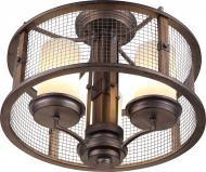 Люстра стельова Altalusse INL-3096C-03 3x40 Вт E27 металік/горіх