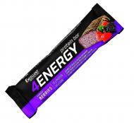 Батончик Excellent Nutrition 4ENERGY зі смаком лісових ягід, глазурований 40 г