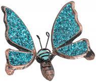 Декор для рослин Метелик малий на металевому стержні 54 см