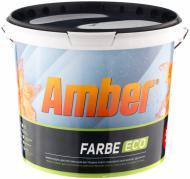 Краска акриловая водоэмульсионная Amber Farbe ECO мат белый 5л
