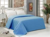 Простынь-покрывало Dama 200x240 см голубой Arya