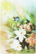 Дошка кухонна Квіти 20x30x0,4 см