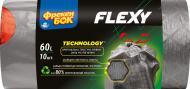 Мешки для мусора с затяжками Фрекен Бок Flexy крепкие 60 л 10 шт.