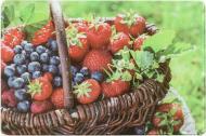 Дошка кухонна Ягоди і фрукти 20x30x0,4 см
