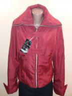 Курточка ветровка женская Fashion 48 Красный (ю233)