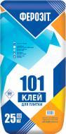 Клей для плитки Ферозіт 101 25кг