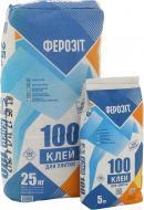 Клей для плитки Ферозіт Ферозіт 100 25 кг + 5 кг у дарунок 25кг