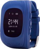 Смарт-часы Ergo GPS Tracker Kid`s K010 dark blue (GPSK010D)