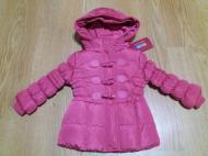 Курточка зимняя для девочки Mine 80 см Розовый (Ю8)