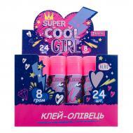 Клей-олівець Cool girl 8 г 320245 1 вересня
