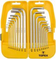 Набір ключів шестигранних Topex 1,5-50 мм 35D953