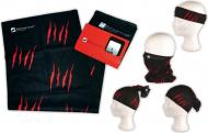Бандана Schwarzwolf T4000200SA3 черный с красным/красный