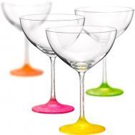 Набор бокалов для мартини Neon Frozen 340 мл 4 шт. 40751/D4896/340 Bohemia