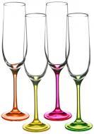 Набор бокалов для шампанского Neon 190 мл 4 шт. 40729/D4892/190 Bohemia