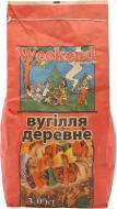 Уголь Weekend древесный 3 кг