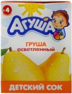 Сок Агуша Груша осветленный 200мл
