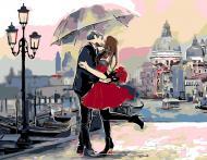 Картина за номерами Наша історія кохання 35х45 см Rosa Start