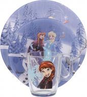 Набір дитячого посуду Disney Frozen Winter Magic 3 предмети N5277 Luminarc