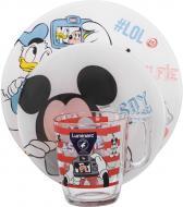 Набір дитячого посуду Party Mickey 3 предмети N5278 Luminarc
