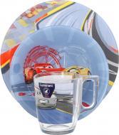 Набір дитячого посуду Disney Cars 3 предмети N5280 Luminarc