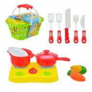 Ігровий набір посуду Супермаркет 16 предметів 666-35