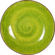 Тарілка з високим бортиком 22 см Лайм Manna Ceramics