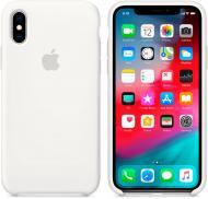 Чохол Apple для Apple iPhone XS white (MRW82ZM/A) Silicone Case