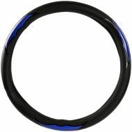 Чохол на руль  King Company KSW-076-2 L 8805 чорний з синім