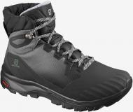 Ботинки Salomon VAYA BLAZE TS CSWP Bk/Bk/Quiet Sha L41113200 р. UK 5 черный с серым