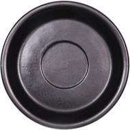 Блюдце 14 см Блек Мат Manna Ceramics