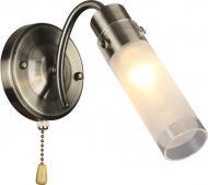 Бра Accento lighting Sakura 1x60 Вт E14 антична латунь ALHu-HKW31607-1AB