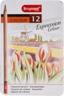 Набір олівців Expression Bruynzeel 12 кольорів Sakura