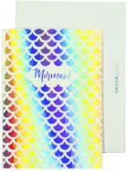 Набір, кардмейкінг листівка з конвертом «Mermaid» Olena Redko