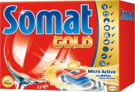 Таблетки для ПММ Somat Gold Micro Active 22 шт.