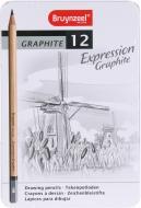 Олівці графітні EXPRESSION Bruynzeel 12 шт. Sakura