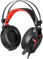 Навушники Redragon Memecoleous black/red Vibration