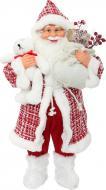 Декоративна фігура Дід Мороз червоно-білий S17202A 60 см