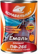 Емаль КОРАБЕЛЬНАЯ алкідна для підлоги ПФ-266 Червоно-коричневий глянець 2,8кг