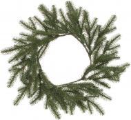 Вінок новорічний Альпійский зелений d500 мм