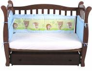 Комплект для детской кроватки К14-1 Моя планета разноцветный