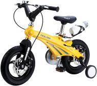 Велосипед дитячий Miqilong GN 12 жовтий MQL-GN12-Yellow